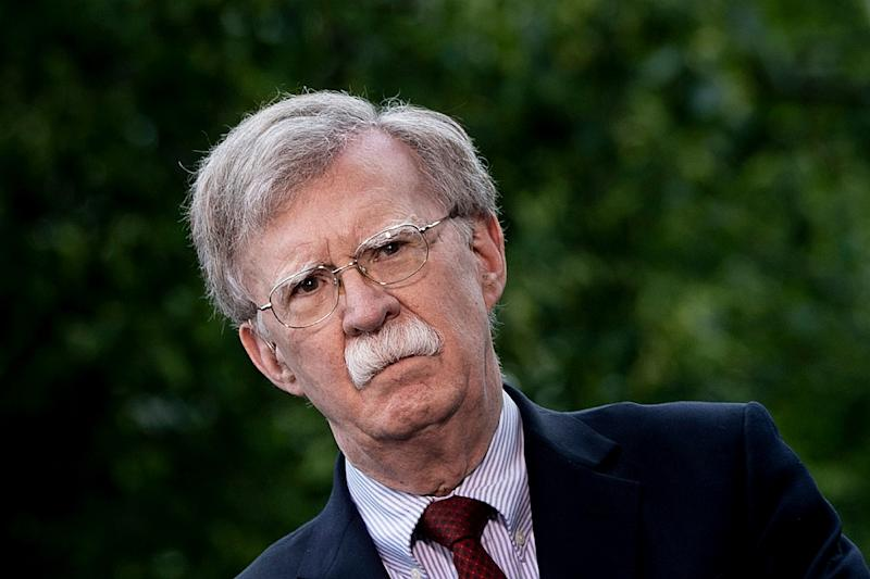 National Security Advisor John Bolton (pictured May 1, 2019) said he wanted to send a