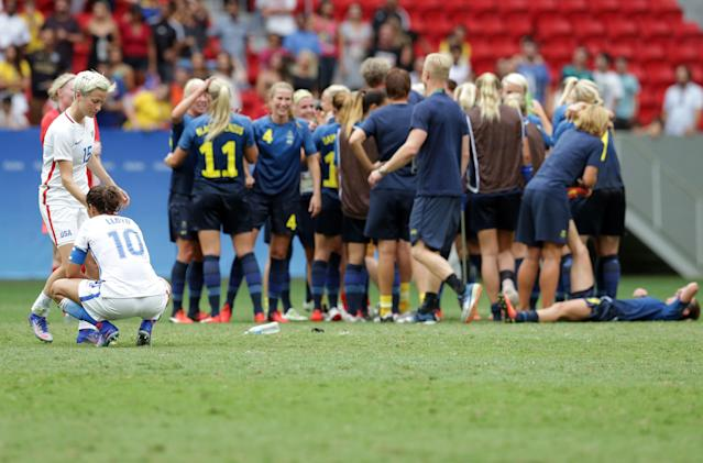 Sweden's upset of the United States in the 2016 Olympics forced Jill Ellis and her team to think differently. (Associated Press)