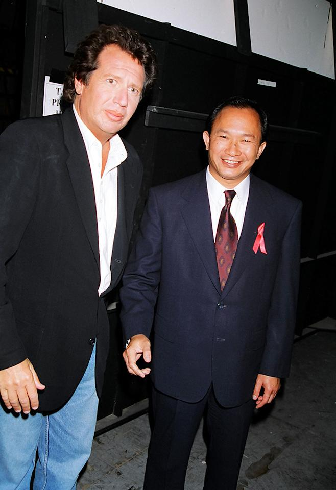 Garry Shandling and John Woo