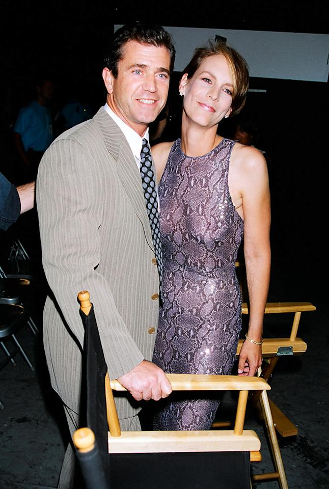 Mel Gibson and Jamie Lee Curtis