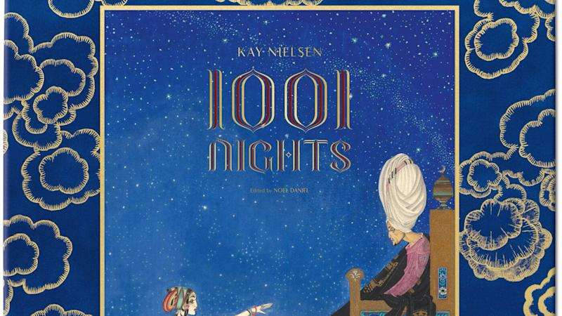 The cover of Kay Nielsen's A Thousand and One Nights (Credit Courtesy of TASCHEN)