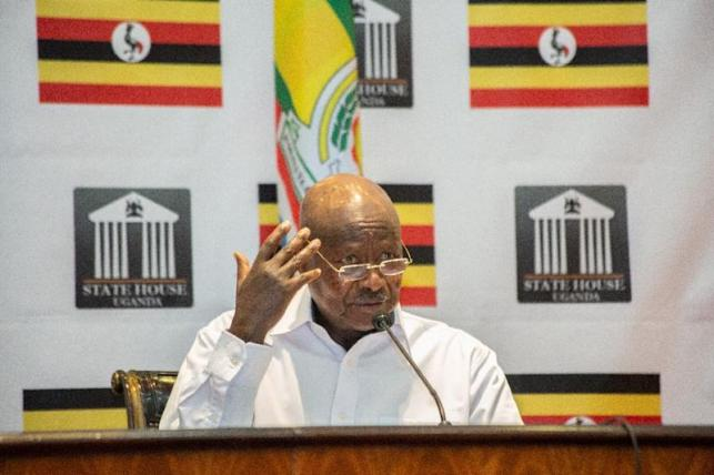 Uganda's President Yoweri Museveni seized power in 1986 at the head of a rebel army