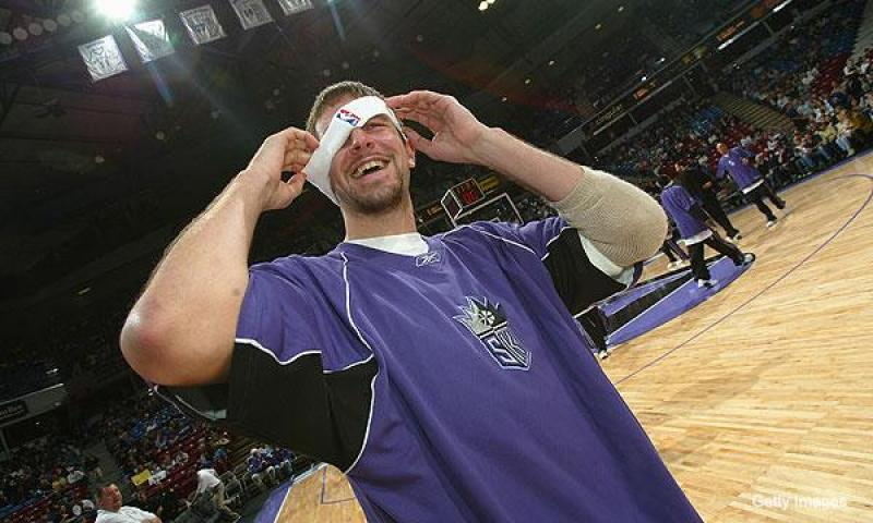 Brad Miller con los kings