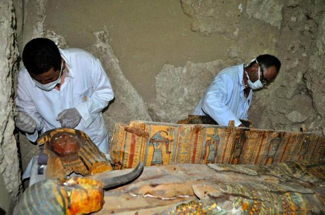 Image result for 3500 year old tomb in luxor