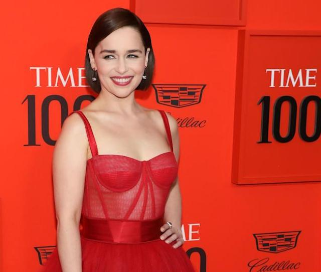 Emilia Clarke At The  Gala In April Says Doing A