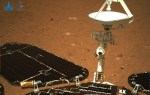China reveals the first Mars photos taken by researcher Zhurong