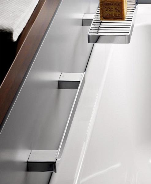 【麗室衛浴】EMCO 0570.133.30 Loft 黑色扶手 (34cm)