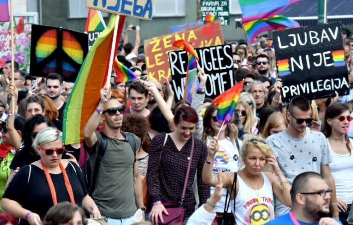 Image result for sarajevo gay pride
