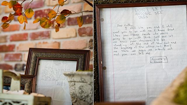 Middle School Love Letter Displayed At Wedding 22 Years Later