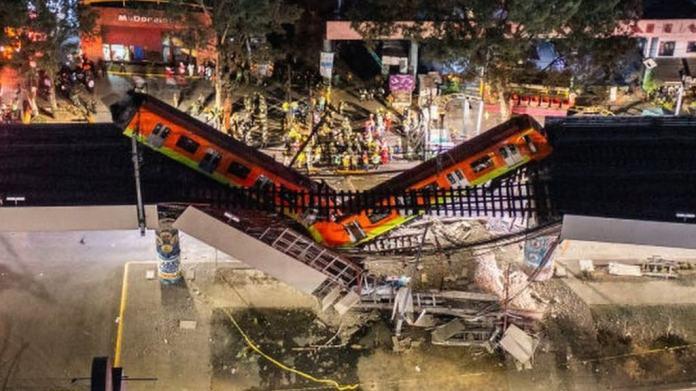 Mexico City metro overpass collapse kills 23