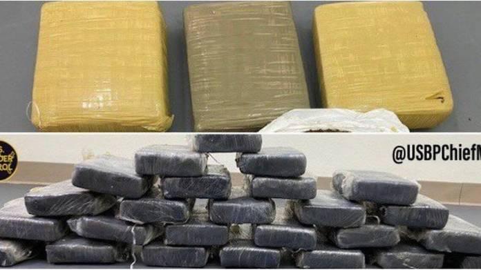 'Washed-up' cocaine and marijuana worth  million found off the Florida Keys