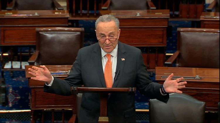 Coronavirus government response updates: Senate Democrats ...
