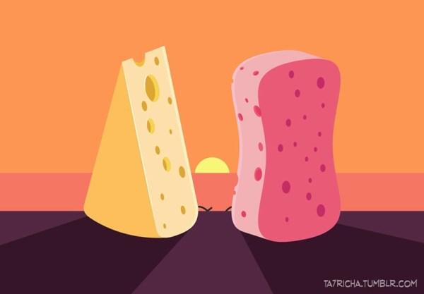 Простые вещи в иллюстрациях Ta7rich - Zefirka