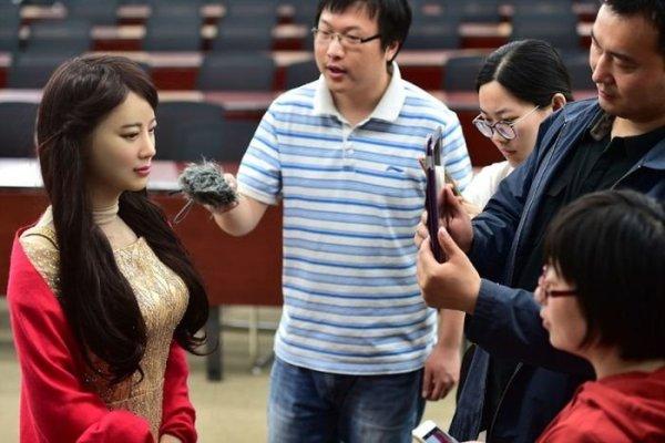 Китайцы представили нового робота-андроида Цзя Цзя - Zefirka