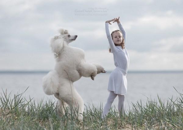 Очаровательные снимки детей с собаками - Zefirka