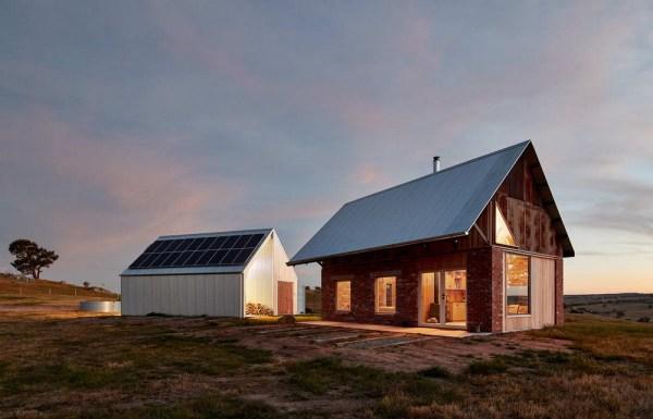 Миниатюрный домик и сарай в Австралии - Zefirka