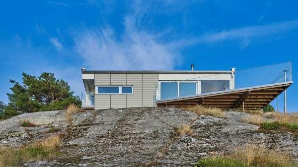 Дом у моря в Швеции - Zefirka