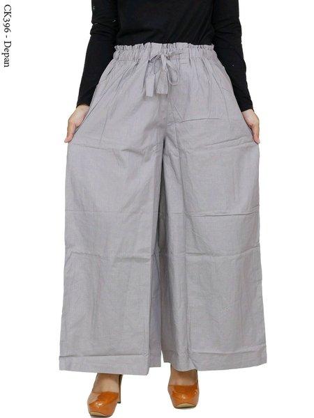 Celana Kulot Jumbo Celana Panjang Wanita Big Size Bahan Cigaret