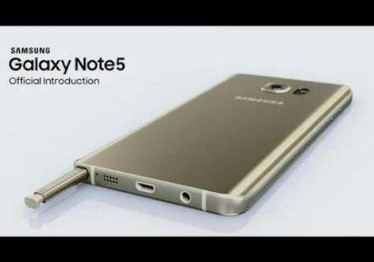 HP Samsung Galaxy Note 5 Internal 32GB Ram 4GB LTE