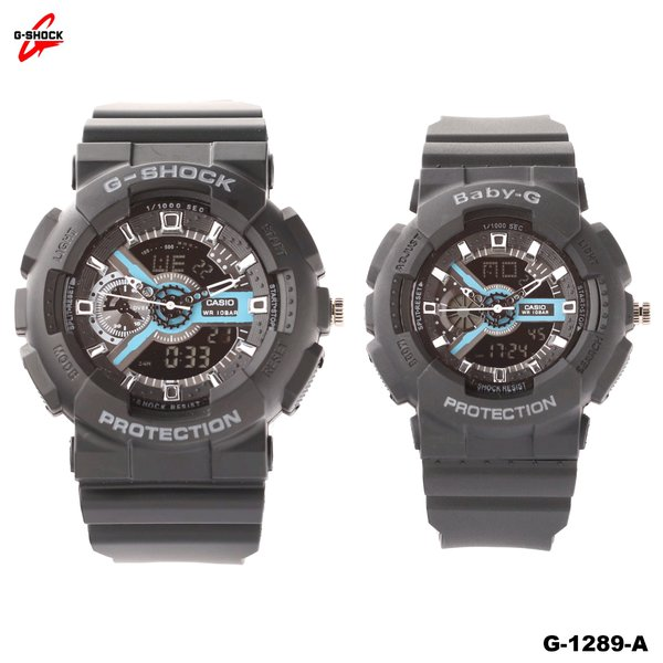 JAM TANGAN COUPLE CASIO