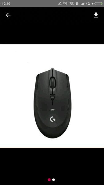 logitech g90 optical mouse gaming murah