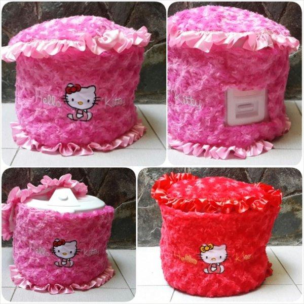 Cover Rice Cooker Hello Kitty Sarung Magic Com Kitty Sarung