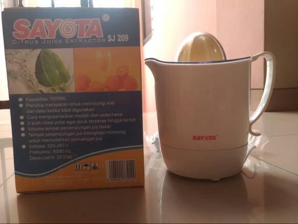 Promo BS429 SAYOTA Automatic Juicer Orange Citrus Pemeras Jeruk Otoma
