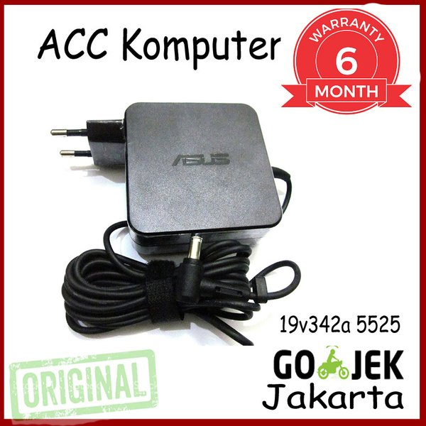 Adaptor 19v3.42a Charger Laptop ASUS A46C K40IJ K42F 5.5x2.5mm
