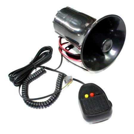 Klakson TOA Polisi 3 Suara ( Suara Nyaring Kenceng ) + MIC