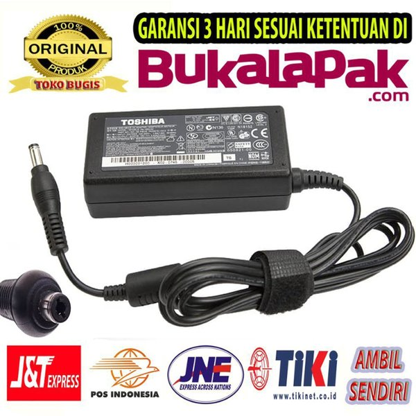CHARGER ADAPTOR CAS LAPTOP TOSHIBA ALL TYPE