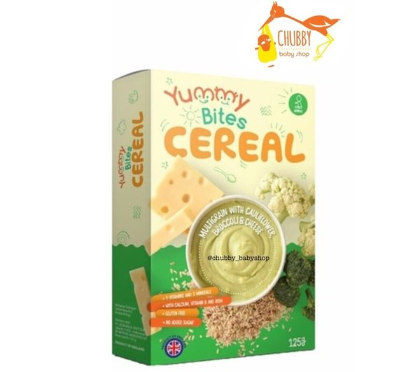 SALE Yummy Bites - Cereal Multigrain with Cauliflower Broccoli & Cheese