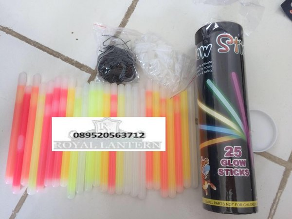GLOW STICK 10mm*150mm 25pcs / LIGHT STIK / GELANG FOSFOR MURAH !!