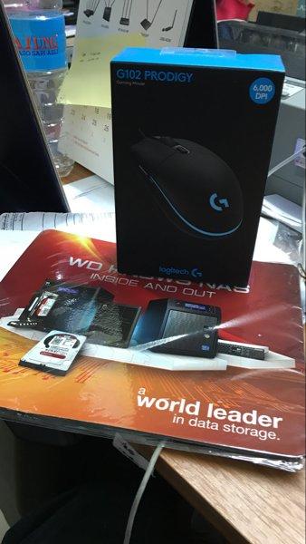 Baru Mouse Logitech G102 Prodigy