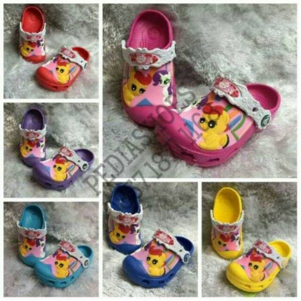 Sandal Anak Crocs Little Pony II Original