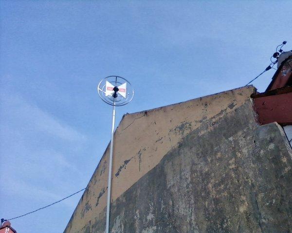 ANTENA TV UHF WAJAN BOLIK + KABEL 15Meter