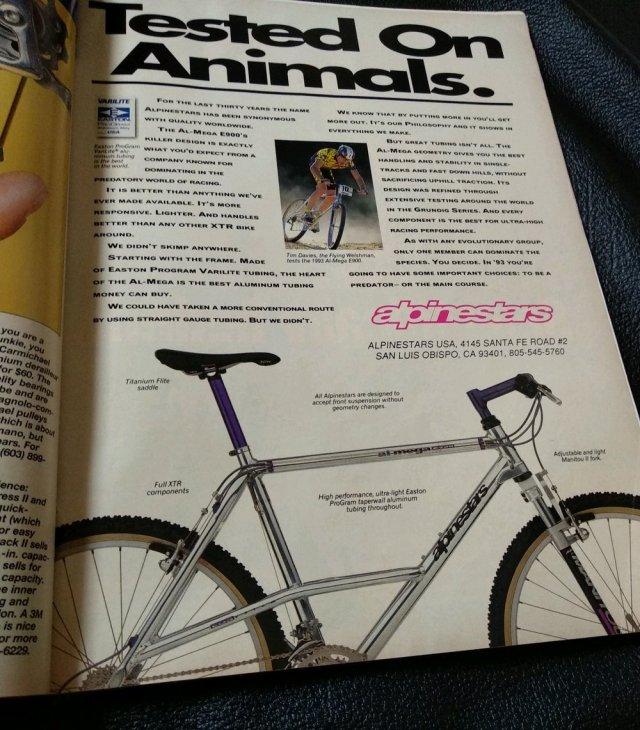 Jual majalah mtb vintage mountain bike action 1993 di ...
