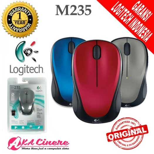 Logitech Mouse Wireless M235