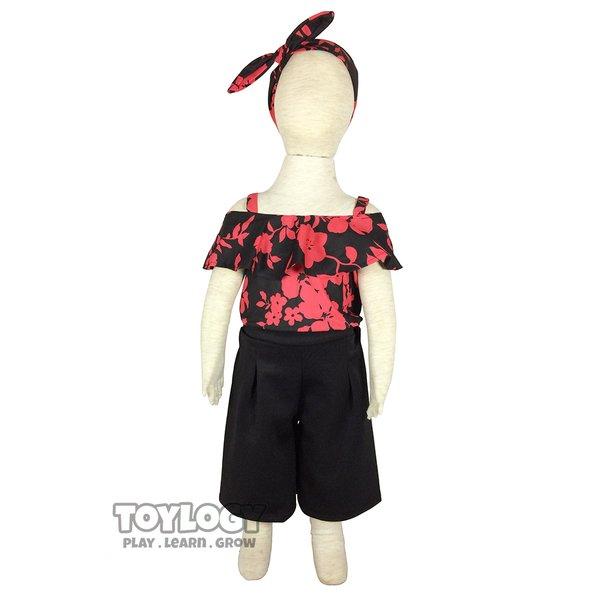 Baju dan Celana Kulot Sonya Setelan Anak Childrens Clothes Suit Sonya