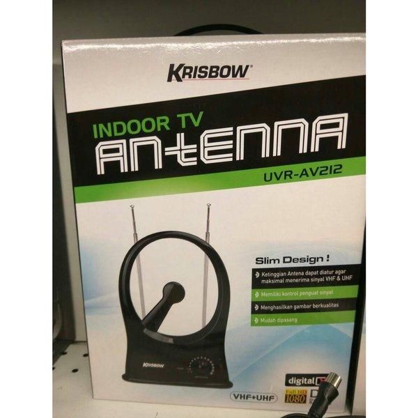 NEW ANTENA TV KRISBOW INDOOR TV UVR-AV212