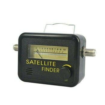 Satellite TV Finder Tool Meter - Satelit Satelite System Signal Antena Penemu Pencari Sinyal Televisi Television