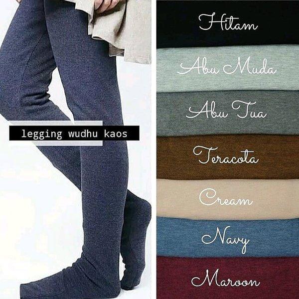 Legging Wudhu Kaos Import