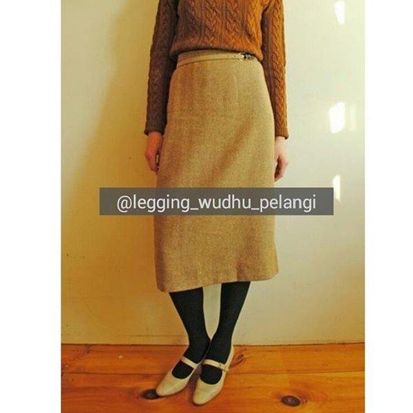 Celana Hijab Terbaru, Legging Wudhu Pelangi