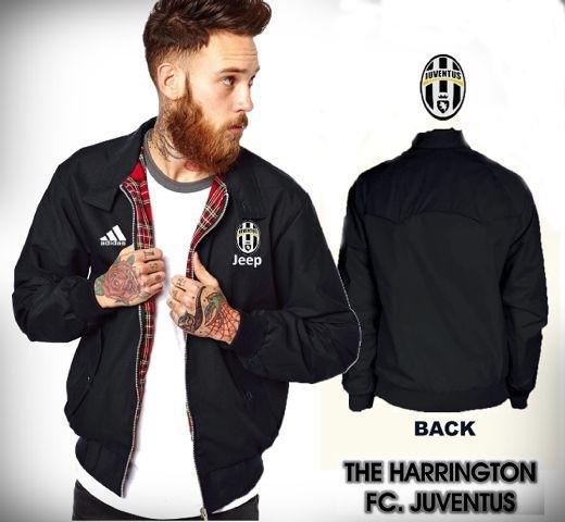 Jaket Harrington Waterproof Juventus