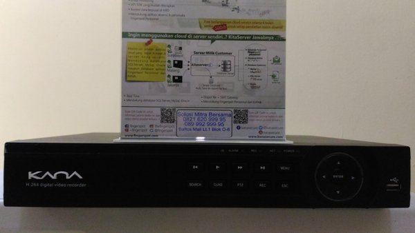 DVR CCTV KANA Tribid DVR 8 Channel HVR3208BZ