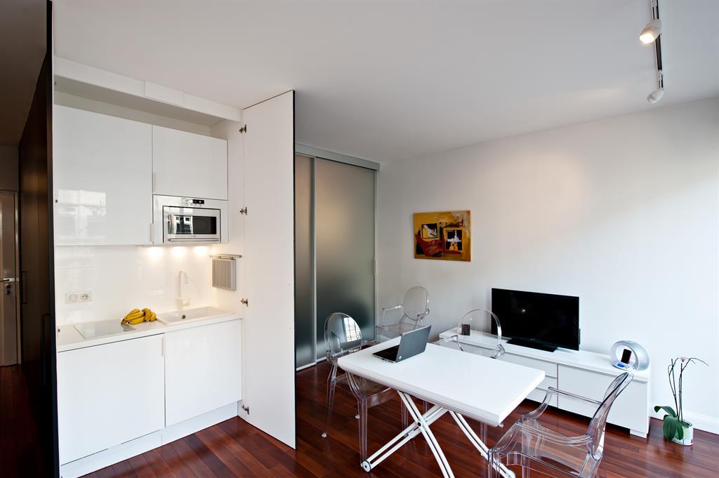espace d un petit studio sans mezzanine