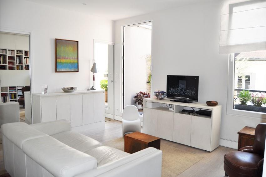 fraicheur moderne avec meubles blancs
