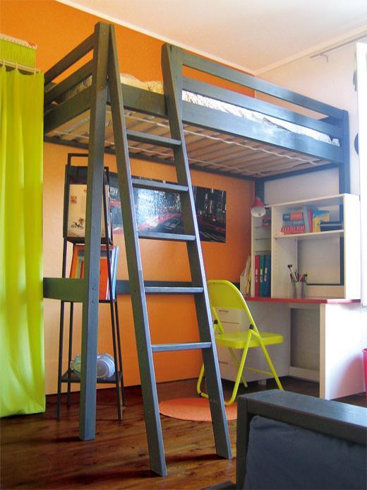 lit mezzanine pour chambre d enfant 6