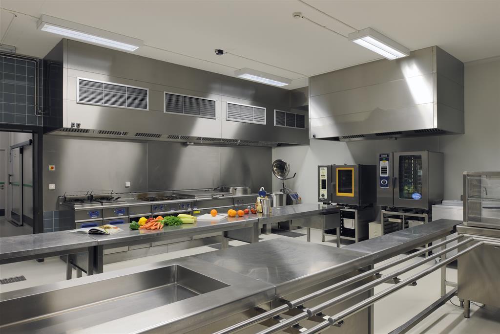 Grande Cuisine De Professionnel DEWIL Architectes Photo N80