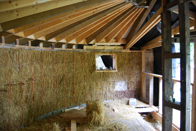 Straw Bale House CAT Hayley Green Cc By Sa20