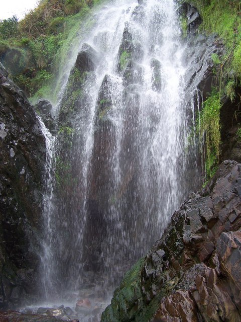 Clovelly Waterfall 169 Peter Gwenlan Geograph Britain And